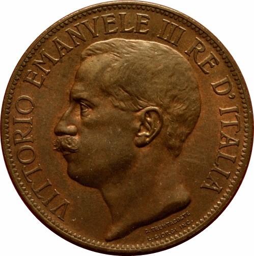 Italy 10 Centesimi  (1911 Vittorio Emanuele III Kingdom Anniversary)