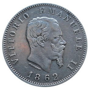 Italy 1 Lira   (1861-1862 Vittorio Emanuele II)
