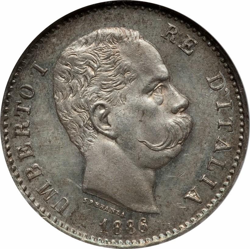 Italy 1 Lira (1883-1900 Umberto I)