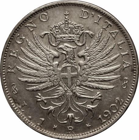 Italy 1 Lira (1901-1907 Vittorio Emanuele III)
