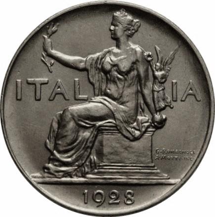 Italy 1 Lira (1922-1935 Vittorio Emanuele III)