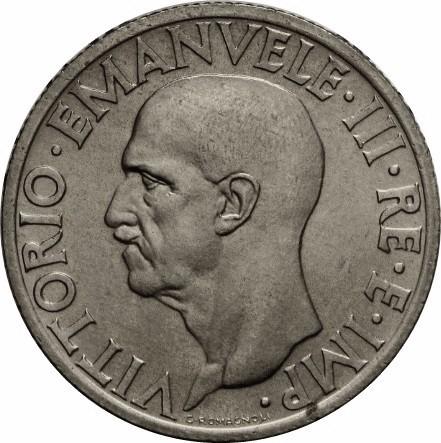 Italy 1 Lira (1936-1938 Vittorio Emanuele III)