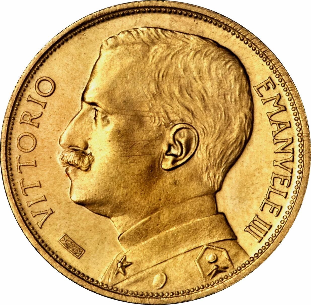 Italy 10 Lire (1910-1927 Vittorio Emanuele III)