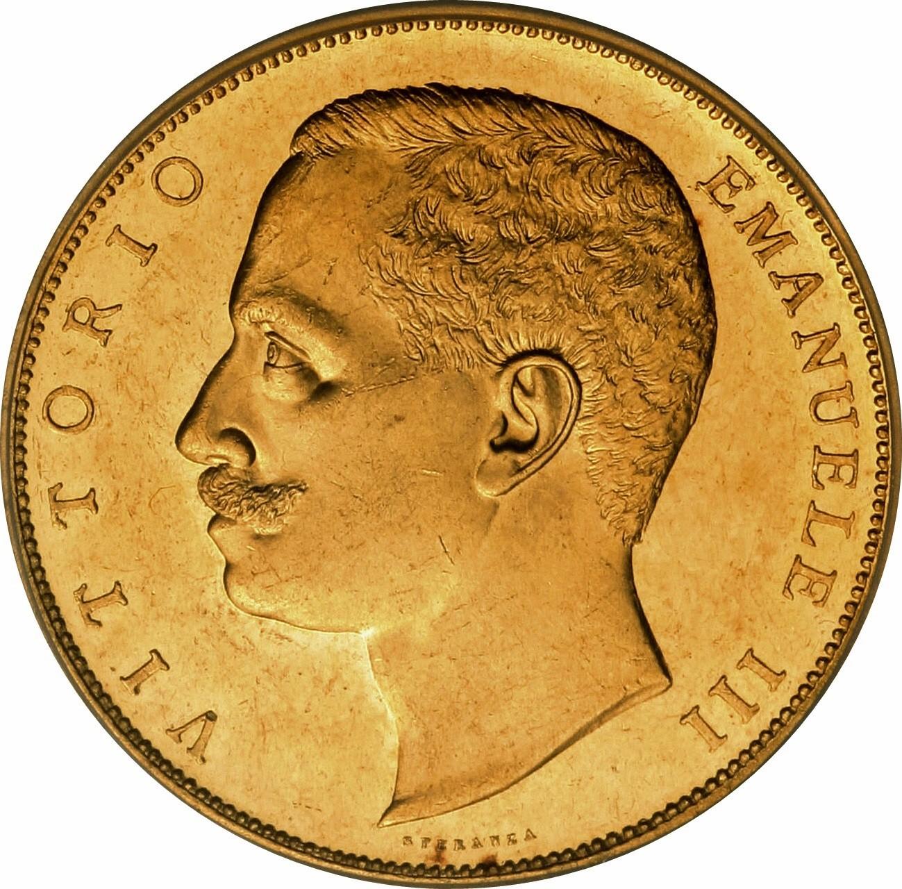 Italy 100 Lire (1903-1905 Vittorio Emanuele III)