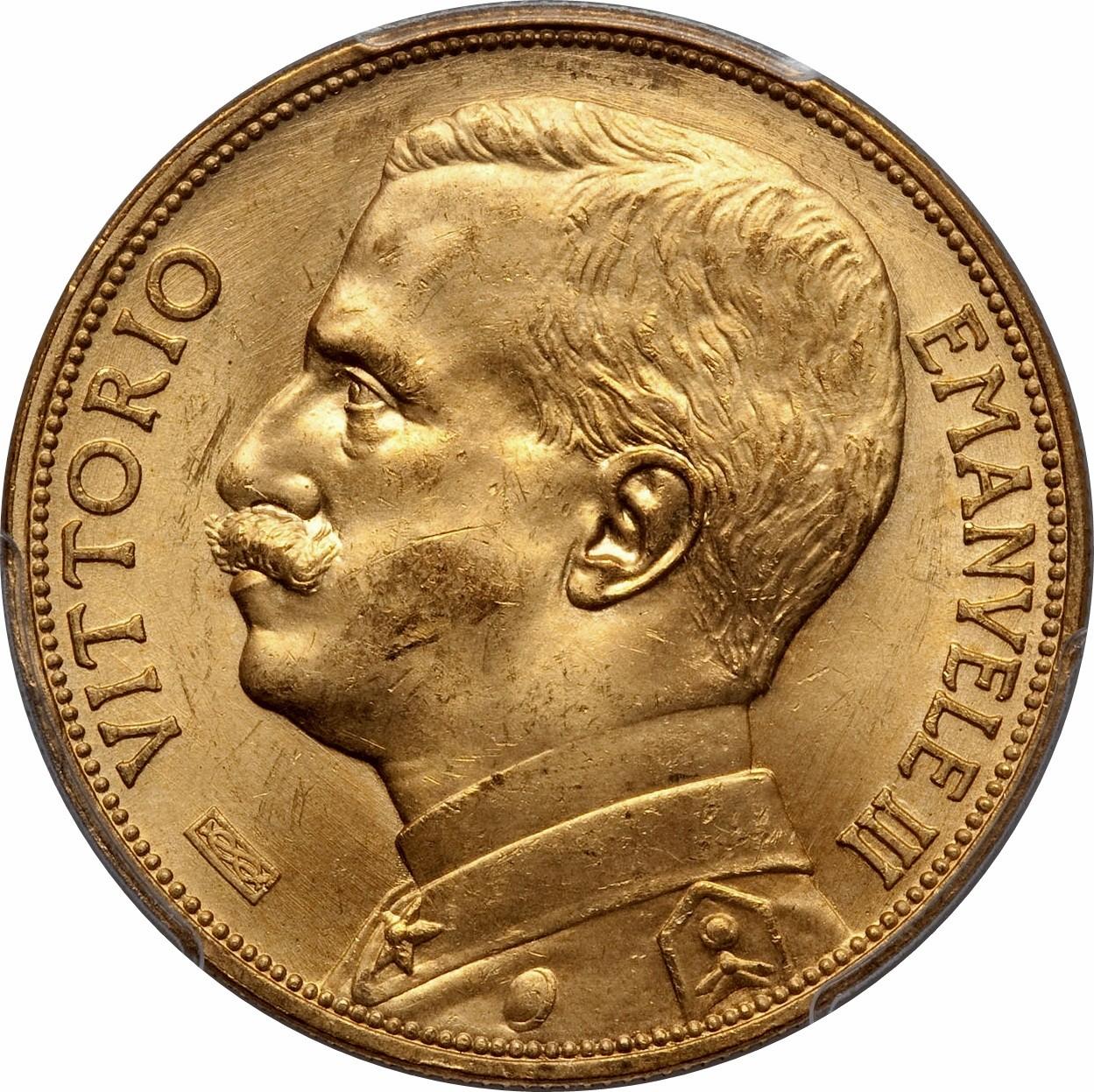 Italy 100 Lire (1910-1927 Vittorio Emanuele III)
