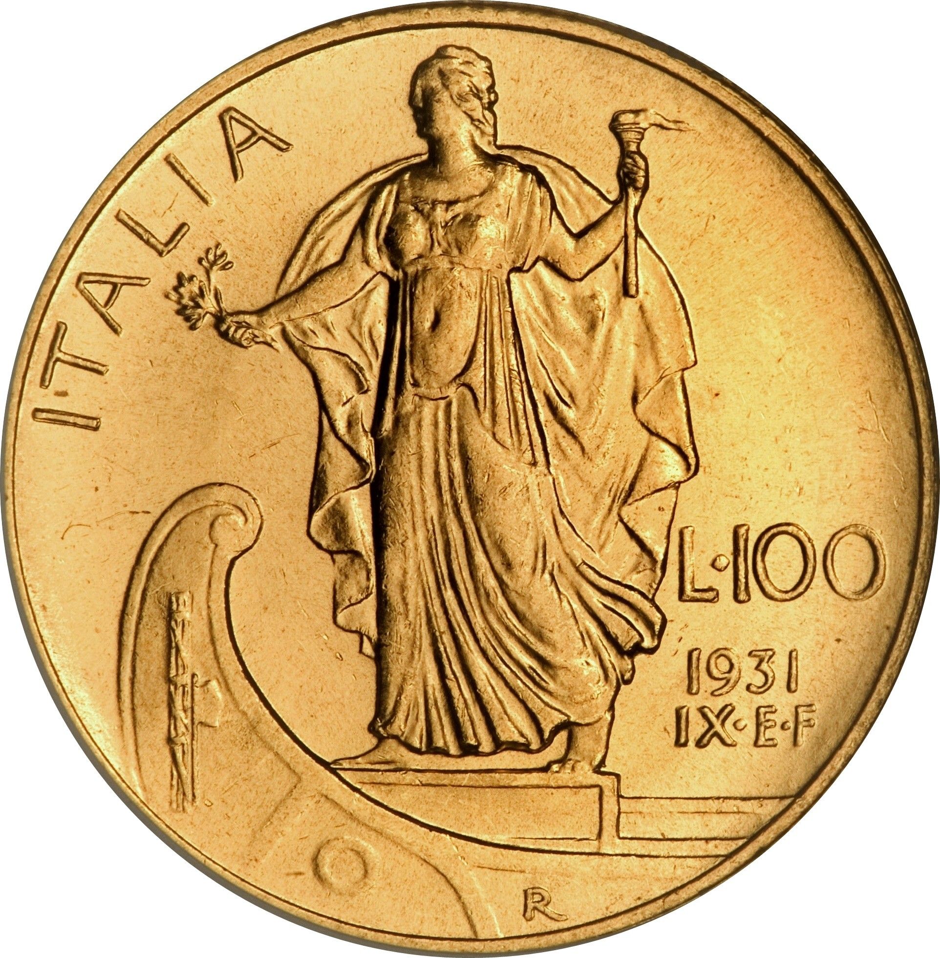 Italy 100 Lire (1931-1933 Vittorio Emanuele III)