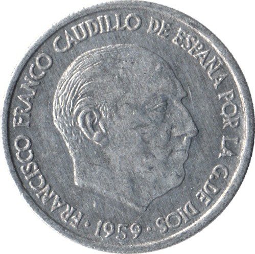 Spain 10 Centimos (1959 Francisco Franco)
