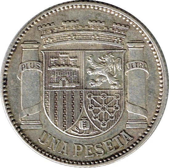 Spain 1 Peseta (1933 II Republic)