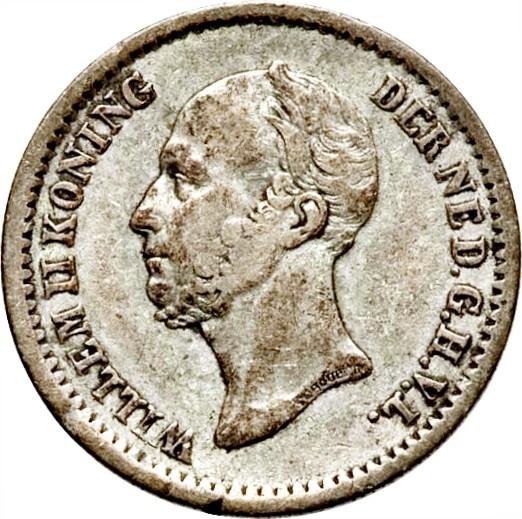 Netherlands 10 Cents  (1848-1849 Willem II)