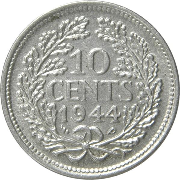 Netherlands 10 Cents  (1926-1945 Wilhelmina)
