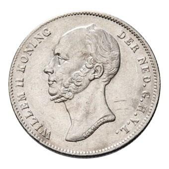 Netherlands ½ Gulden  (1846-1848 Willem II)