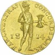 Netherlands 1 Ducat (1814-1816 Willem I)