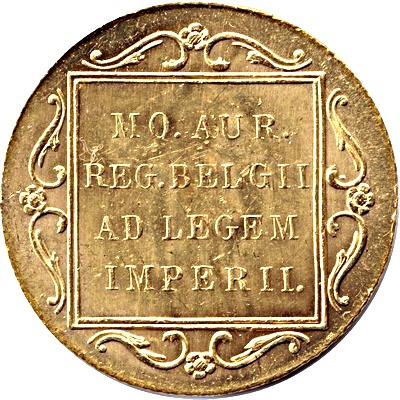 Netherlands 1 Ducat (1894-1937 Wilhelmina Trade Coinage)