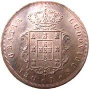 Portugal 10 Réis (18467-1874 Luíz I)