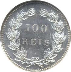 Portugal 100 Réis (1890-1898 Luiz I)