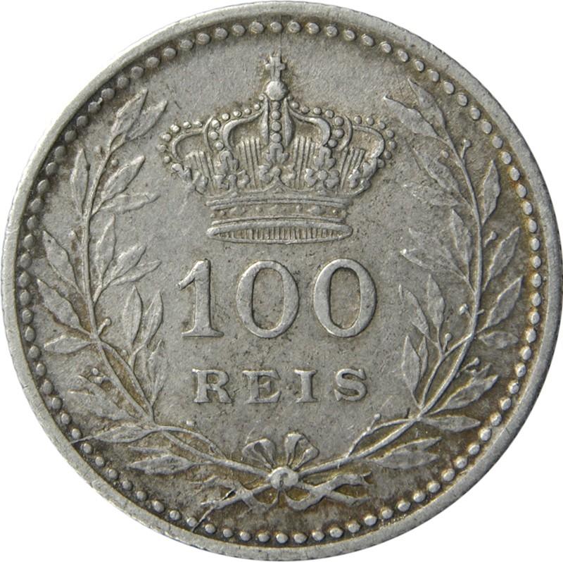 Portugal 100 Réis (1909-1910 Manuel II)
