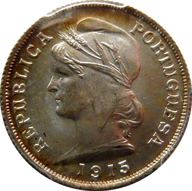 Portugal 10 Centavos (1915)