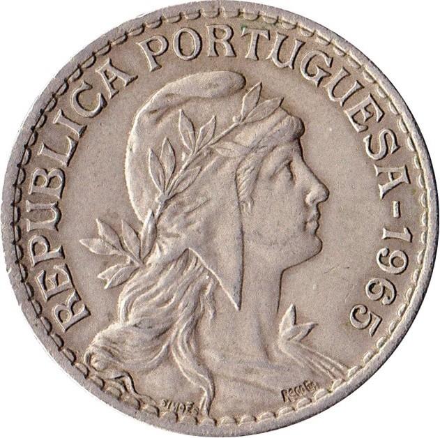 Portugal 1 Escudo (1927-1968)