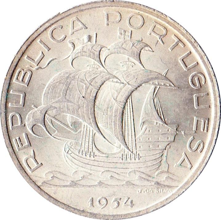 Portugal 10 Escudos (1954-1955)