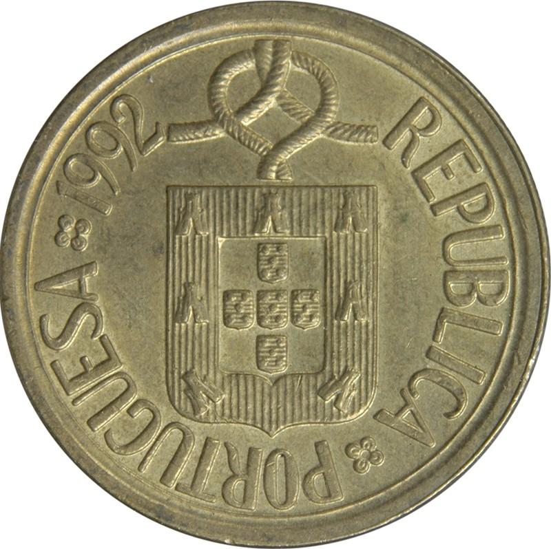 Portugal 10 Escudos (1986-2001)