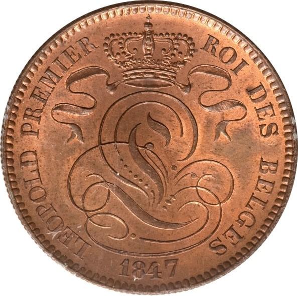 Belgium 10 Centimes (1832-1856 Léopold I)