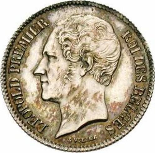 Belgium ½ Franc (1847-1850 Léopold I)