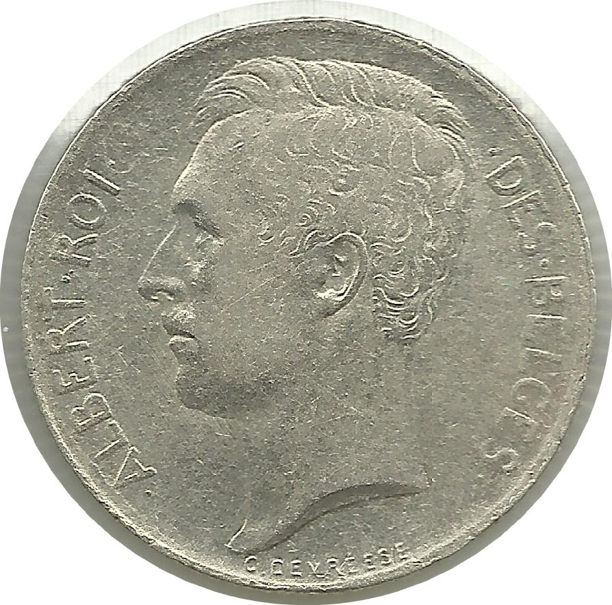 Belgium 50 Centimes (1910-1914 Albert I-French text)