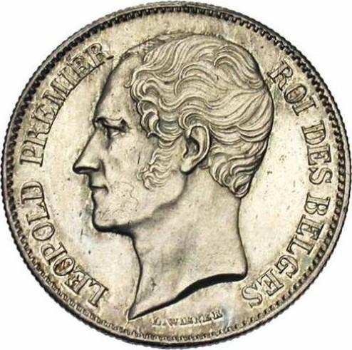 Belgium 1 Franc (1849-1850 Léopold I)