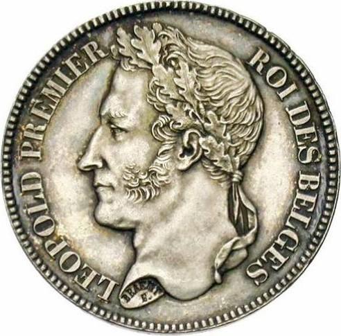 Belgium 2 Francs  (1834-1844 Léopold I)