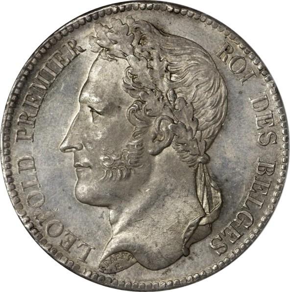 Belgium 5 Francs  (1832-1849 Léopold I)