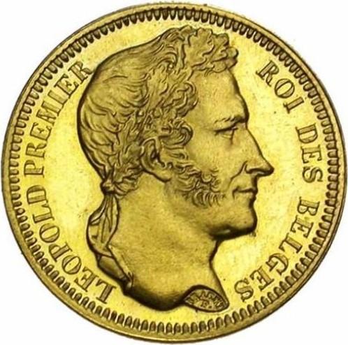 Belgium 20 Francs (1834-1841 Léopold I)
