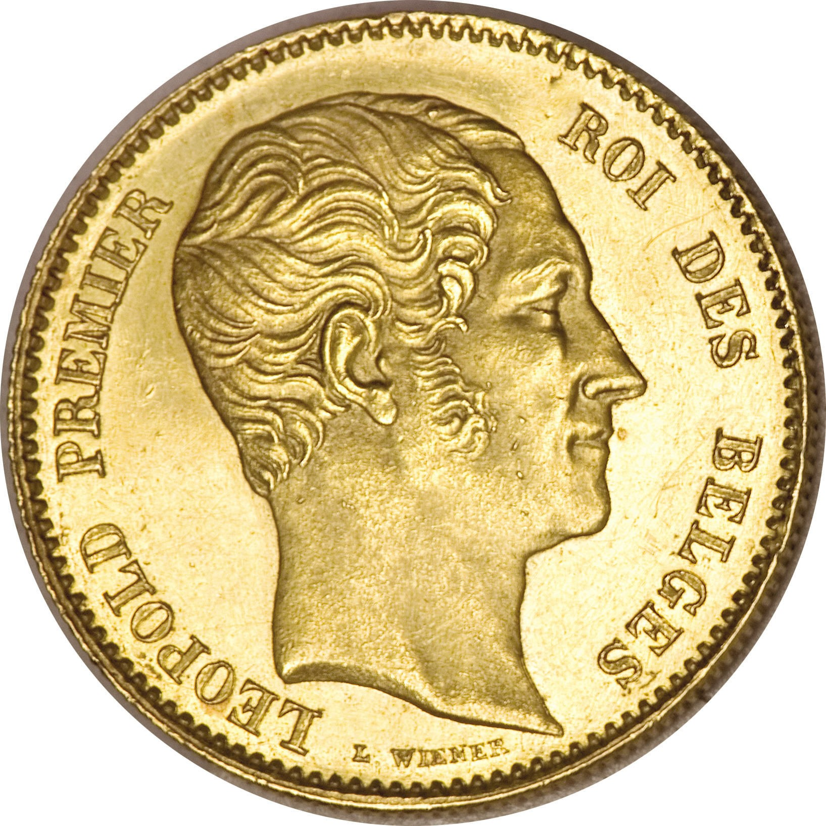 Belgium 25 Francs (1848-1850 Léopold I)