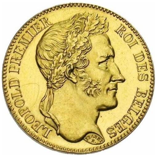 Belgium 40 Francs (1834-1841 Léopold I)