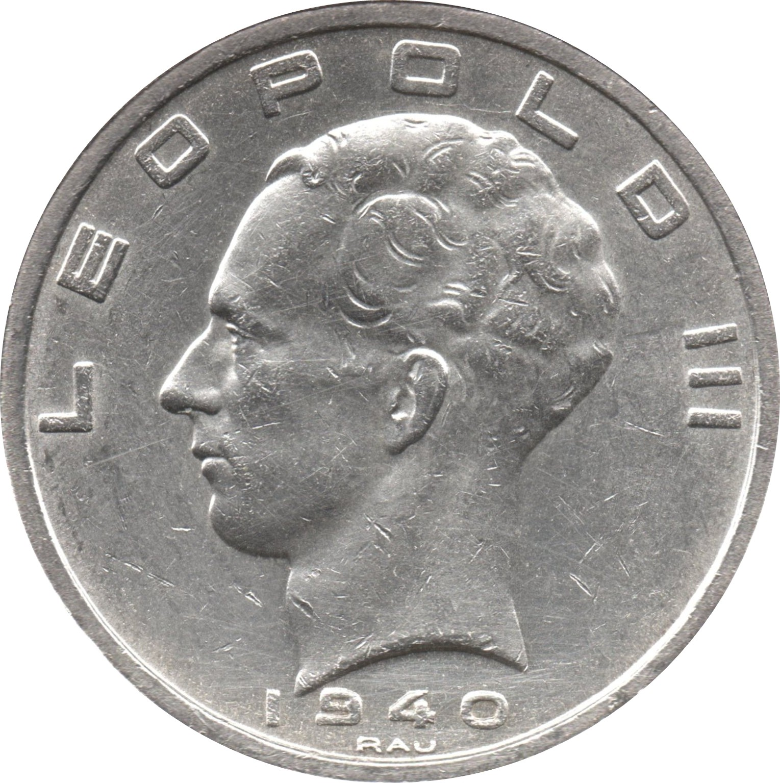 Belgium 50 Francs (1939-1940 Léopold III)