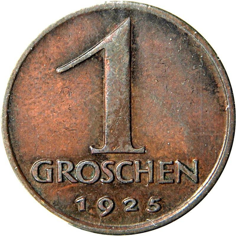 Austria 1 Groschen (1925-1938)