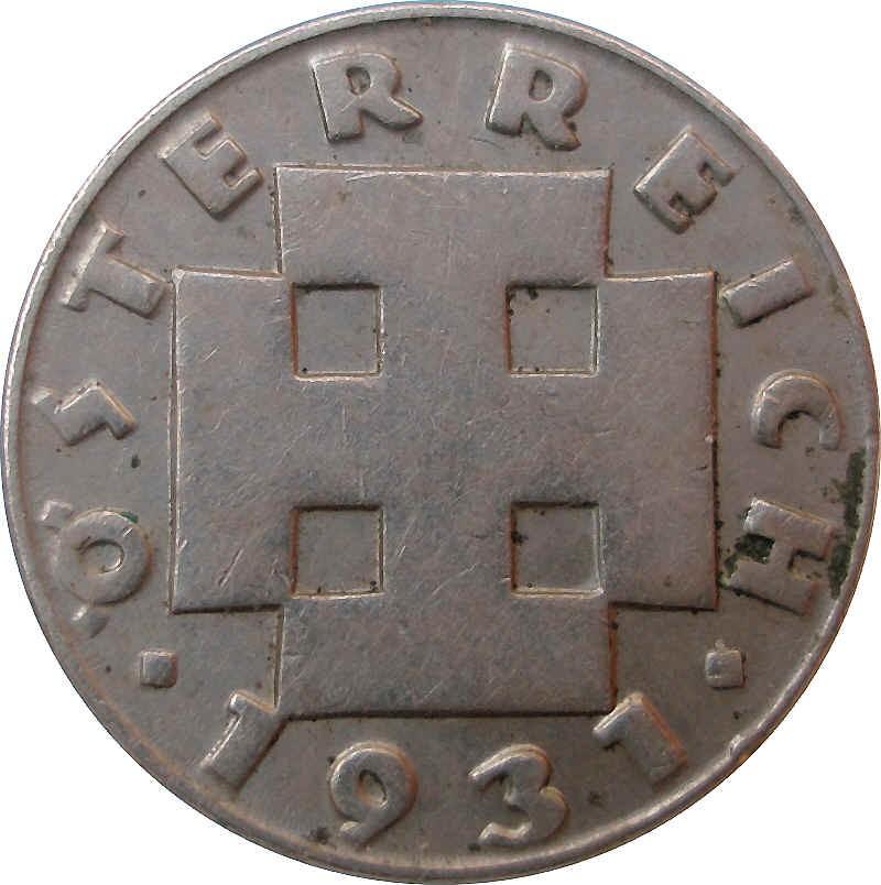 Austria 5 Groschen (1931-1938)
