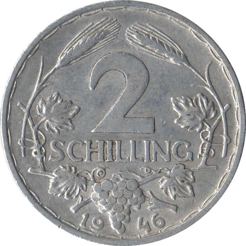 Austria 2 Schilling (1946-1952)