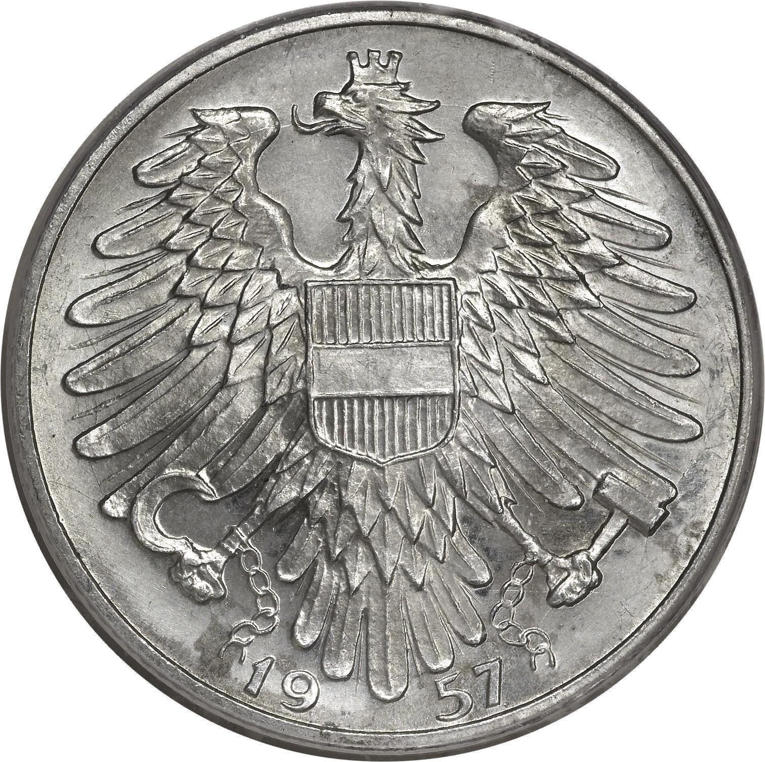 Austria 5 Schilling (1952-1957)
