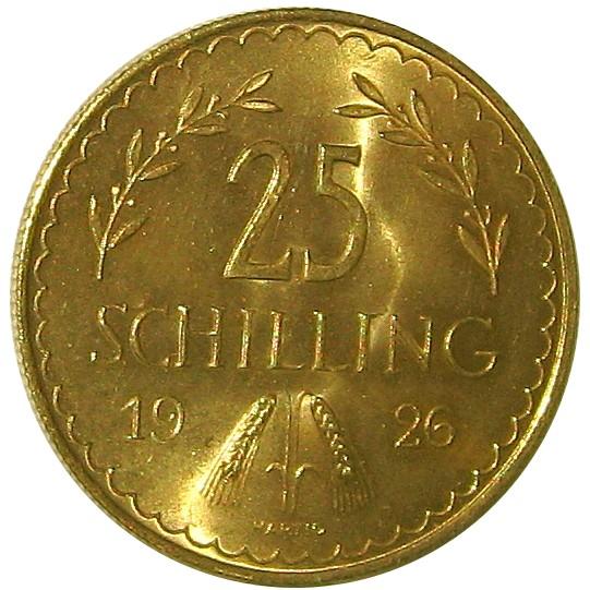 Austria 25 Schilling (1926-1934)
