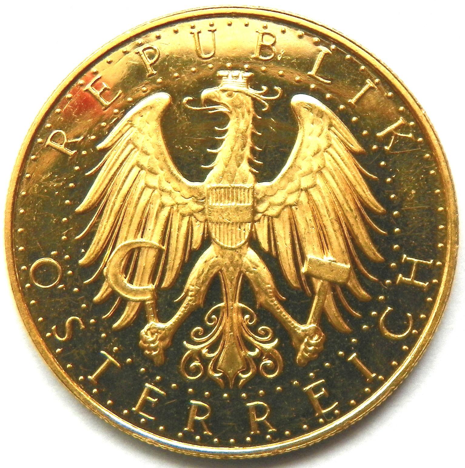 Austria 100 Schilling (1926-1934)
