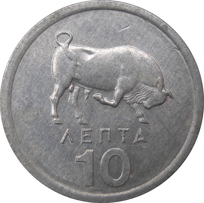 Greece 10 Lepta (1976-1978)