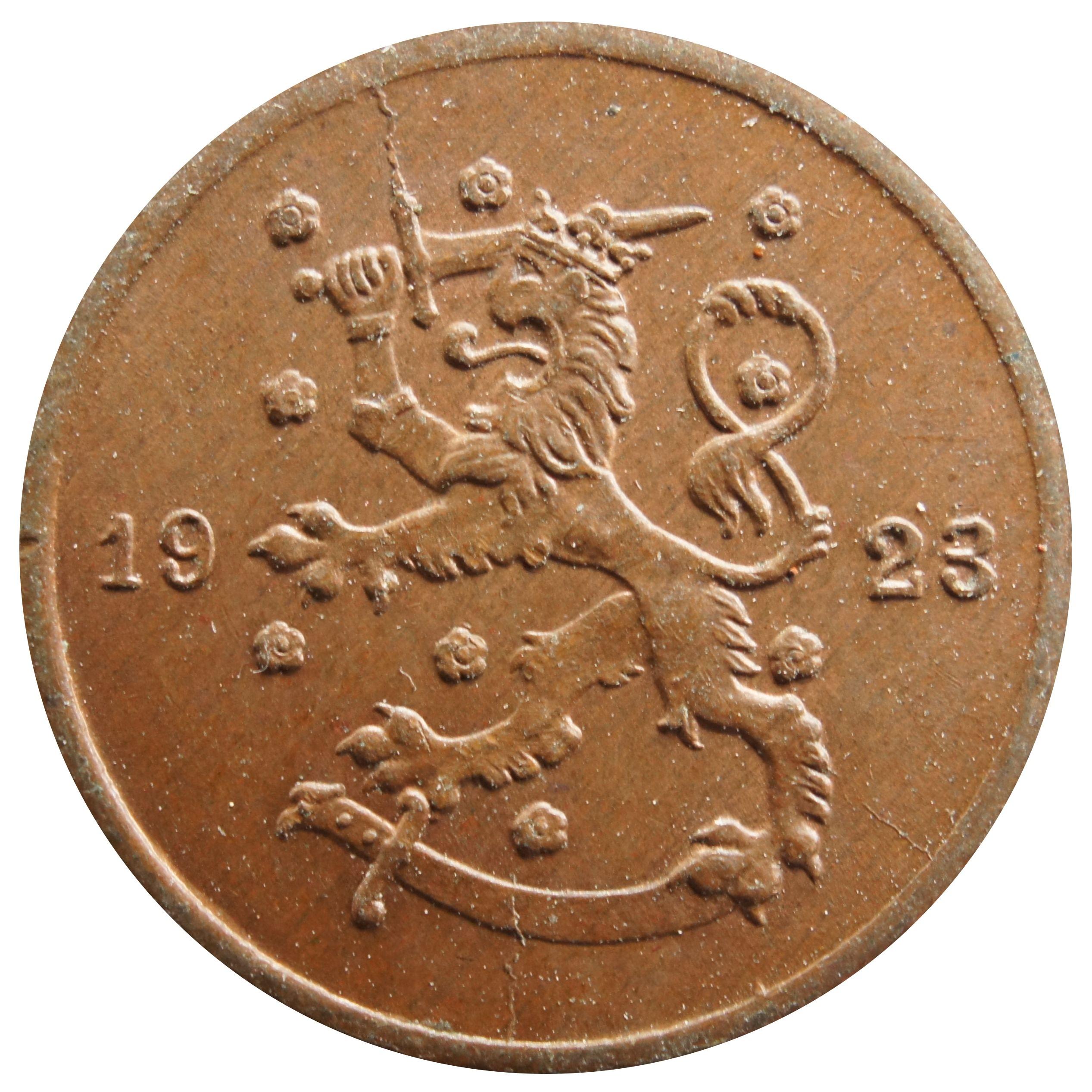 Finland 1 Penni (1919-1924)