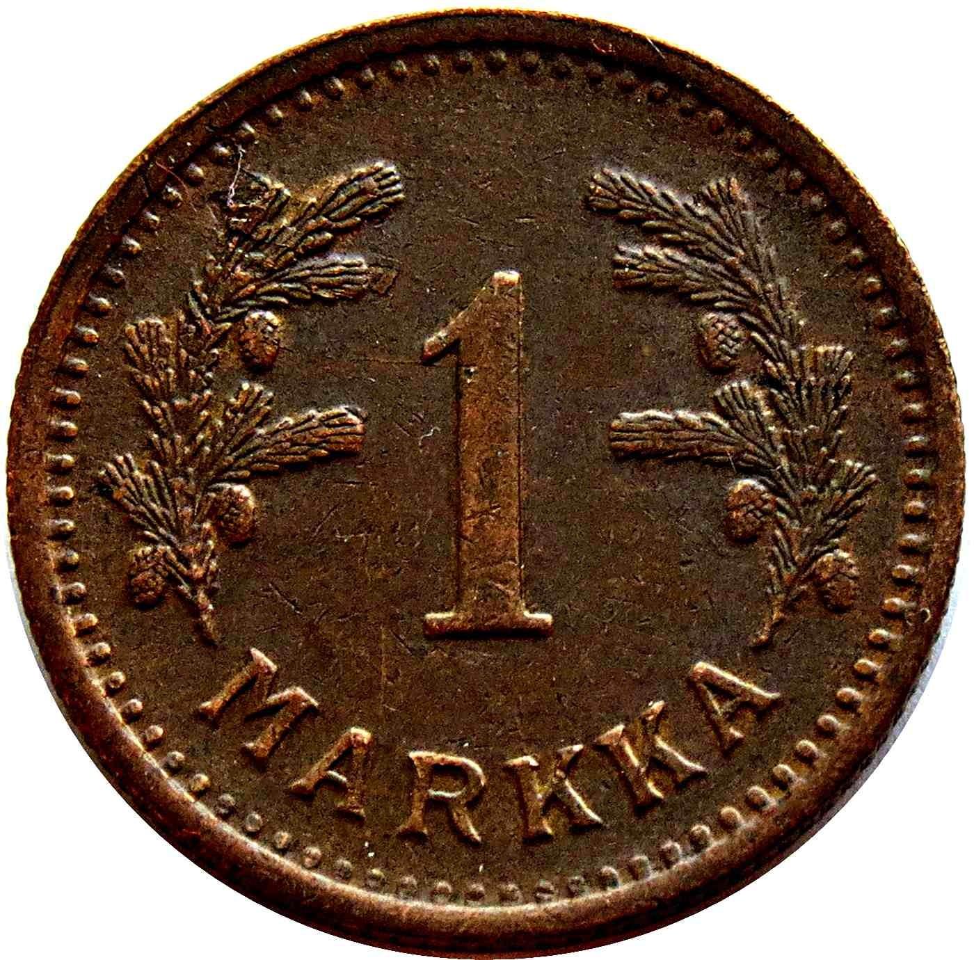 Finland 1 Markka (1940-1951)