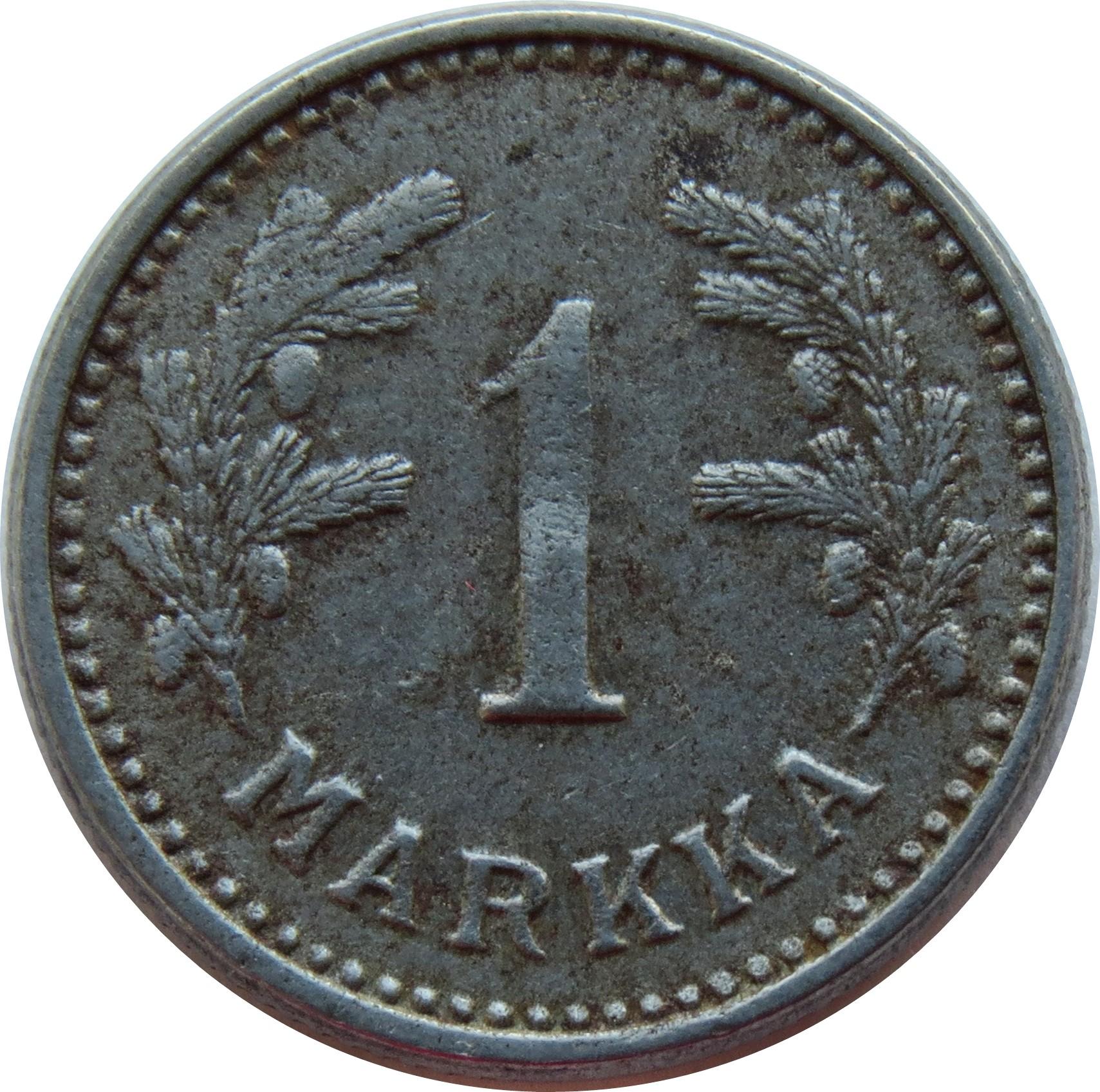 Finland 1 Markka (1943-1952)