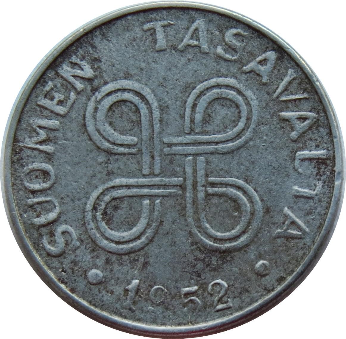 Finland 1 Markka (1952-1953)