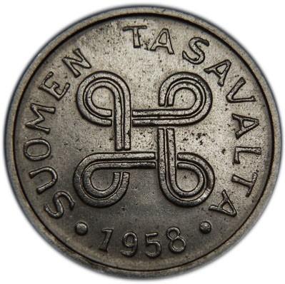Finland 1 Markka (1953-1962)
