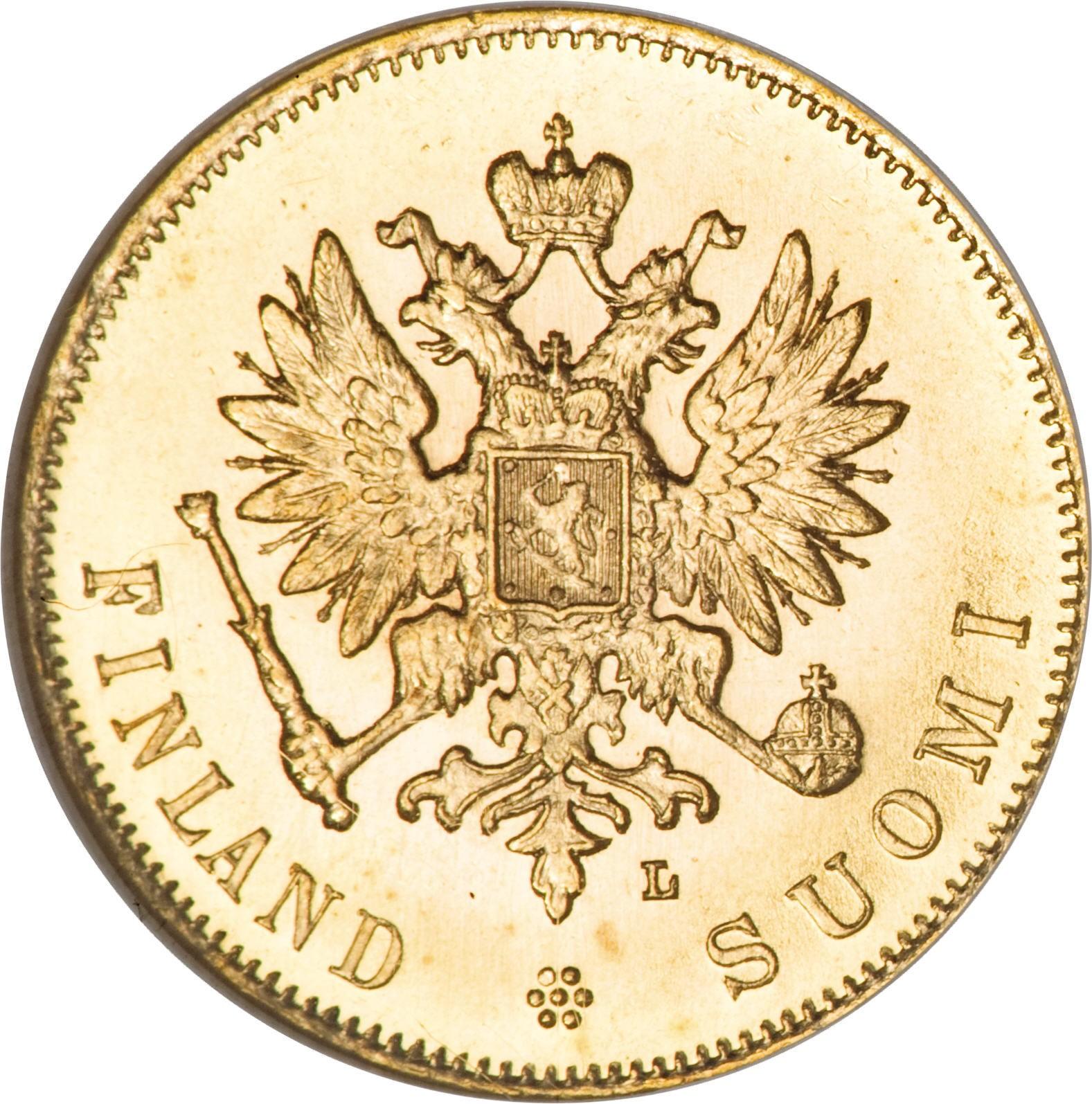 Finland 10 Markkaa (1878-1913 Aleksandr II / Nikolai II)