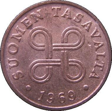 Finland 1 Penni (1963-1969)