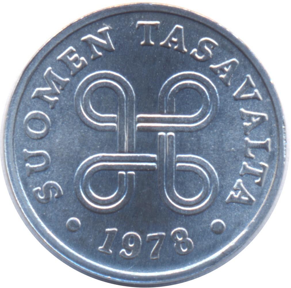 Finland 1 Penni (1969-1979)