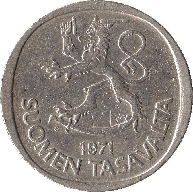 Finland 1 Markka (1969-1993)